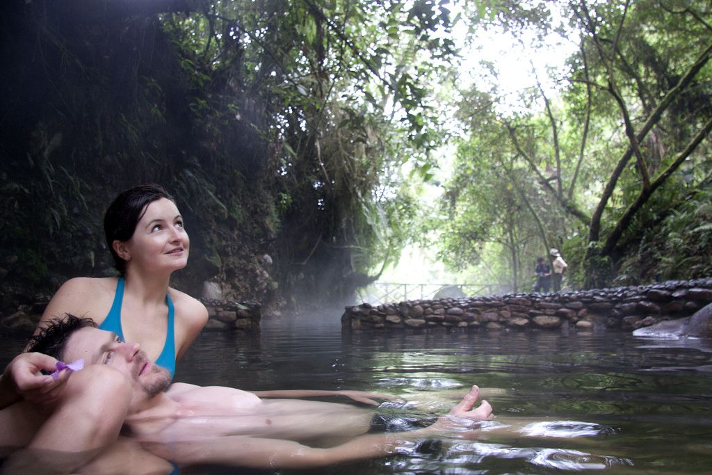 Hot springs, a benefit for your health.