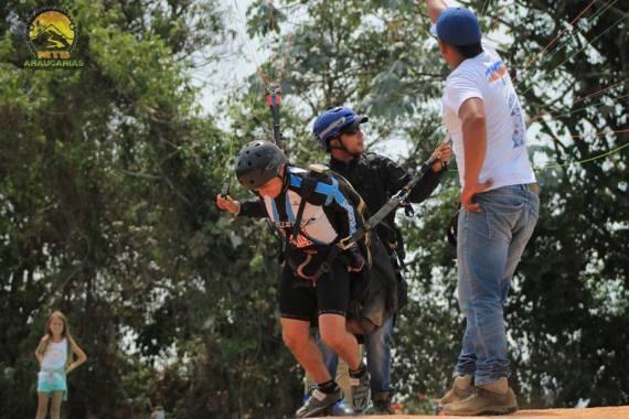 Paragliding Apía Flight2