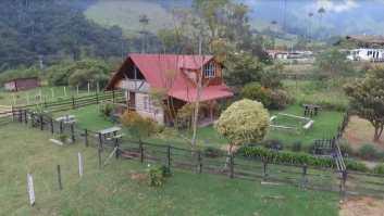 Romantic cabin in Cocora Valley