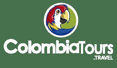 Logo Blanco Vertical ColombiaTours.Travel - Agencia de Viajes - Planea tu viaje a Colombia