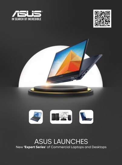"""ASUS unveils new laptops and desktop models for business and professional  users under its """"Expert series"""" 