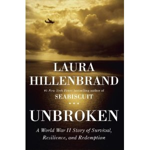 """Based on a true story, """"Unbroken"""" was named """"Los Angeles Times"""" nonfiction book of the year. """"Unbroken"""" tells the story of Louis Zamperini, a promising Olympian, who was called to service during World War II. Upon his departure, Zamperini is held prisoner in a Japan prison."""