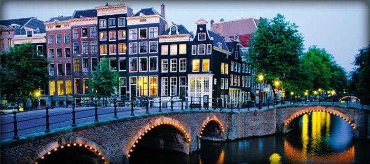 "Amsterdam, the Netherlands | Why it's #1: Floating through picturesque Amsterdam canals is the main way to navigate this romantic and beautiful city in Europe. Rent an Amsterdam bike, eat Amsterdam street food, or explore the Van Gogh Museum and the Anne Frank House. And when you're a little bit older, come back to visit the ""coffee shops,"" Dutch breweries, and the infamous Red Light District."