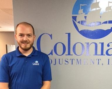 Adjuster Ryan Coffin Earns His AIC Designation  Colonial Adjustment  Colonial Adjustment
