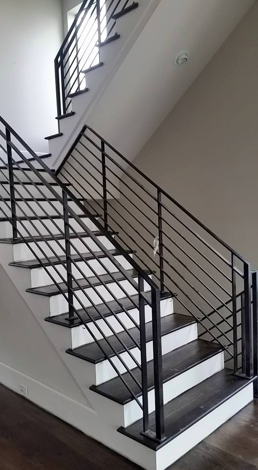 Wrought Iron Railings Colonial Art   Custom Stairs And Railings   Guardrail   Barnwood   Upstairs   Interior   Ss Railing Design