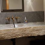 Weatheredge Limestone Hand Carved Vanity
