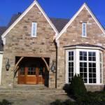 Buckskin Squared house closeup