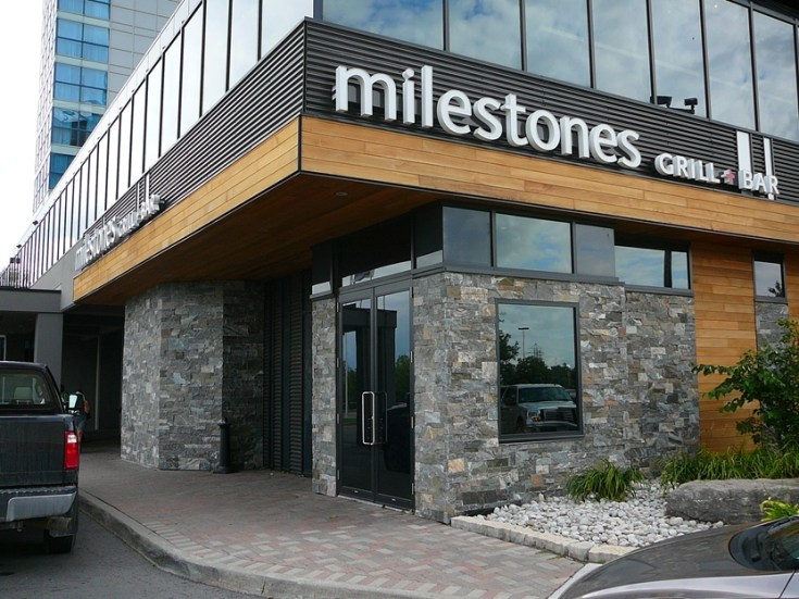 Elite Blue & Colonial Classic Granite Drystack Sawn Height Niagara Milestone