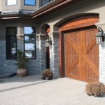 Elite Blue Granite Ledgerock Drystack post garage