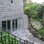 Elite Blue Granite Sawn Height House Round side