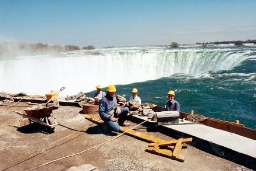 Niagara Falls Project overview men working