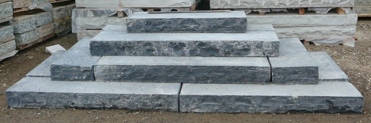 Black Limestone Steps