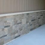 brown and black limestone ledgerock blend foundation