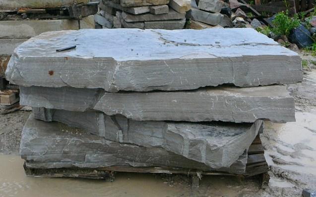 Charcoal Limestone Random Steps