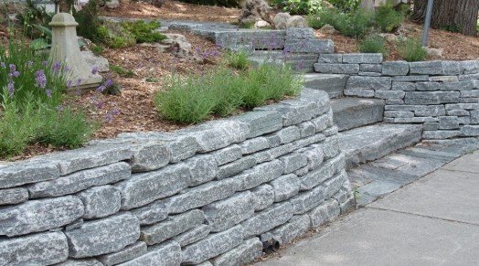 elite blue granite landscaping