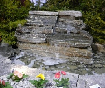 Elite Blue Granite Mini Waterfall