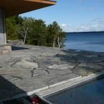 Elite Blue Granite Oversized Flagstone