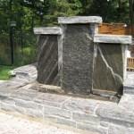Elite Blue Granite Fountain