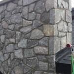 elite blue granite random chimney