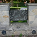 Elite Blue Granite Engraved Sign