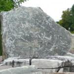 elite blue granite sign rocks