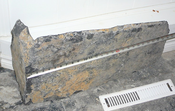 Extremely Large Natural Stone Veneer Corner
