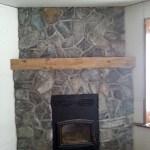 fireplace elite blue granite random