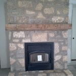 fireplace harvest gold limestone tumbled blend
