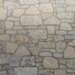 harvest gold limestone tumbled blend closeup stone
