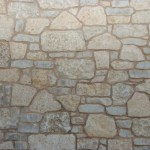 harvest gold limestone tumbled blend closeup stone