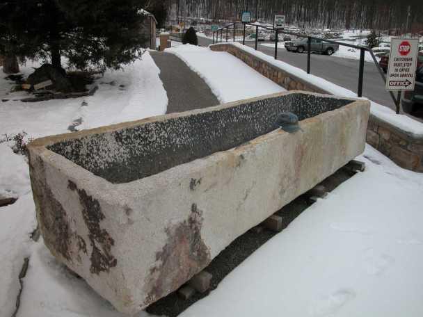 large trough