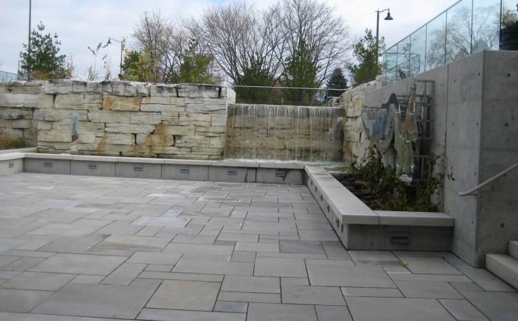 limestone sawn patio