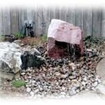 mica bubbling rock
