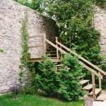 old mill ruins yard