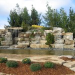Weatheredge Limestone Waterfall w/Cave