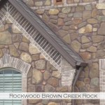 rockwood brown creek rock