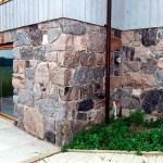 split feildstone squared foundation