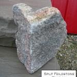 split fieldstone random veneer corner