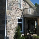 stone house side after restore