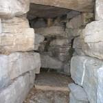 waterfall cave inside