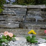 Elite Blue Granite Miniature Waterfall