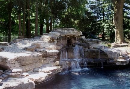 waterfall in toronto