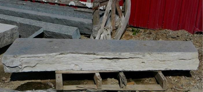 weatheredge limestone polished hearth