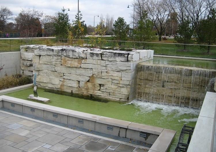 Weatheredge Limestone Sawn Waterfall