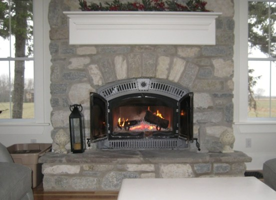 weatheredge limestone tumbled blend fireplace insert