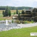 weatheredge limestone waterfall prebuilt