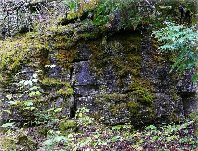 weatheredge quarry amabel formation outcrop