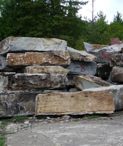 weatheredge quarry amabel formation stone
