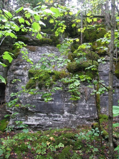 weatheredge quarry amabel outcrop