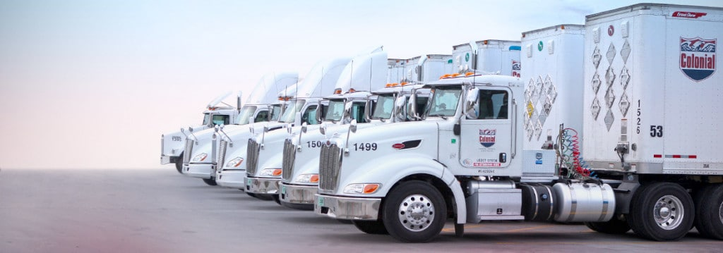 Colonial Chemical Solutions truck fleet